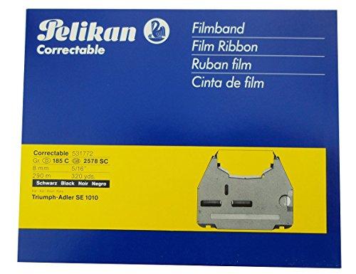 Pelikan Schreibmaschinenfarbband/531772 schwarz Correctable Gr.185C SE1010