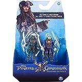 Piratas del Caribe - Pack 2 figuras de Ghost Crew y Will Cursed (Bizak 61923101)