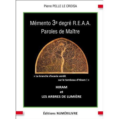 Memento 3e Reaa Maitre