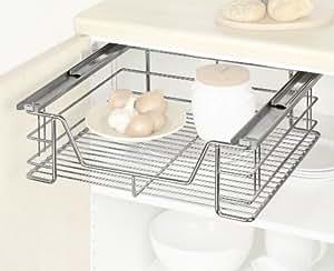 Wenko 5920100 schrankauszug midi ausziehbare ablage for Ausziehbarer küchenschrank
