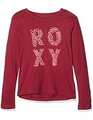 Roxy RG Tonic Wild - Camiseta de manga larga para niña, color amarillo , talla S