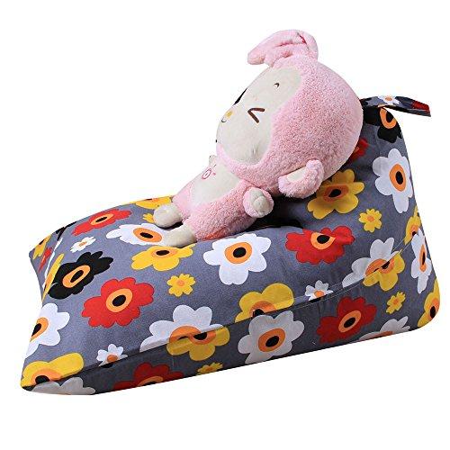 Spielzeug Aufbewahrungstaschen Hängend, Sitzsack Kinder Stofftier Kuscheltiere Aufbewahrung Aufbewahrungstasche Soft Pouch Stoff Stuhl (H)