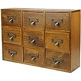 Petit meuble tiroir bois for Petit meuble de bureau