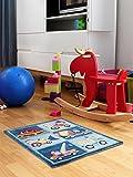 Tappeto bambino Trucks - inquinamento-free - 100% Poliestere - Cartoni Animati - Tessuto a macchina - Cameretta dei bambini