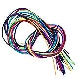 Flexy-Laces elastische Schnürsenkel ca. 110 cm und 70 cm Länge (ca. 110 cm, blau)