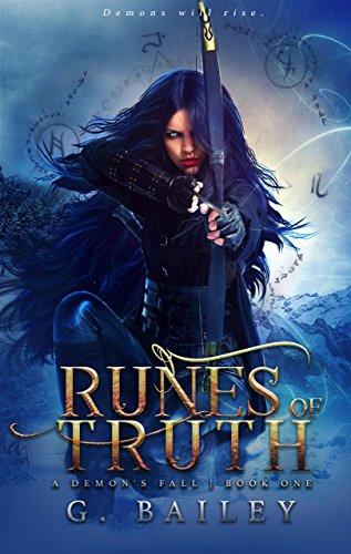 Runes of Truth: A Reverse Harem Urban Fantasy (A Demon's Fall series Book 1) (English Edition)