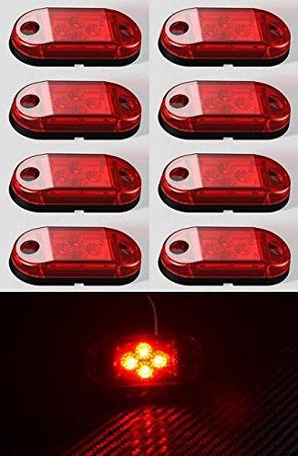 24//7Auto LS026 2 /X Lampes Led Arri/ère Recovery Ch/âssis 24 /V Pour Camion Camion Remorque Caravane