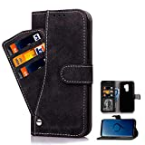 Asuwish Galaxy S9 plus Case Phone Cases Wallet Shockproof