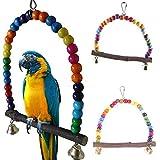GUOYIHUA Schaukel Spielzeug für Papageien, Sittiche, Nymphensittiche, Finken, Unzertrennliche, Finken, Kanarienvögel, Käfig-Spielzeug