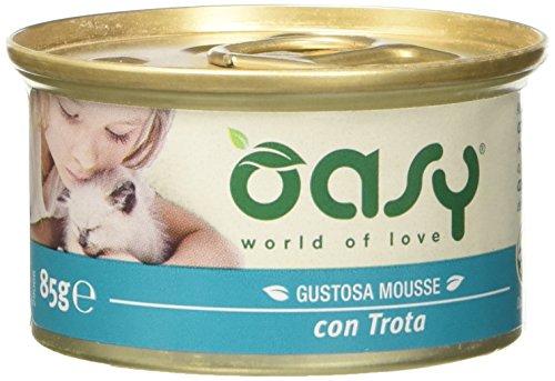 OASY Forelle Mousse Katzenfutter Wet Cat Premium-