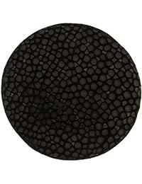 MY iMenso cuero insignia marrón negro 33 mm, 33-1065