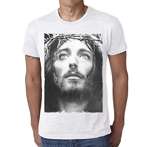 Jesus Christ:Herren T-shirt 7015307 - Weiß, S, t shirt herren,Geschenk (Jesus Christ T-shirt)