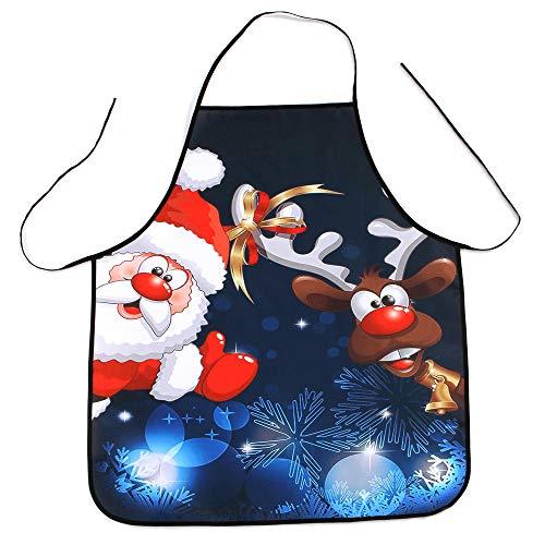 Hirolan Damen Wasserdicht Schürze Karikatur Küche Kochen Lätzchen Frauen Kochschürze Latzschürze Grillschürze Küchenschürze Kochen Schürze (MulticolorA 3)
