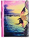 #1: MultiZone Scenic Dream Catcher Journal Diary Notebook with Button Closure, 5 x 7 inches, 96 Unlined Sides