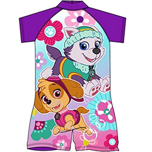 Girls Paw Patrol Swimsuit Surfsuit Swimming Costume Childrens Swimwear Age 1-10 Years
