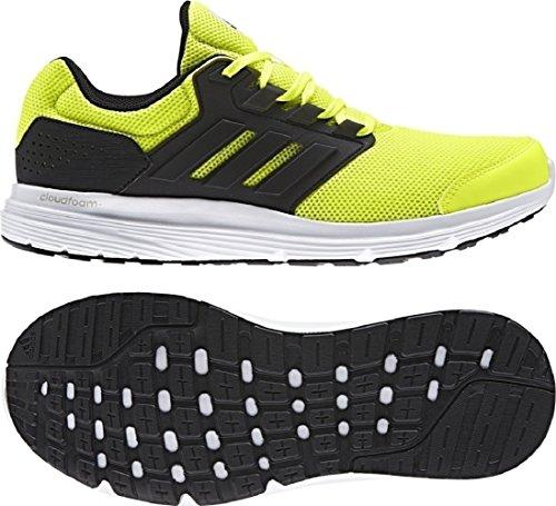 adidas Galaxy 4, Scarpe Running Uomo Giallo (Solar Yellow/core Black/core Black)