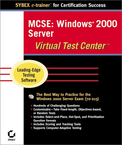 MCSE Windows 2000 Server Virtual Test Center por Sybex