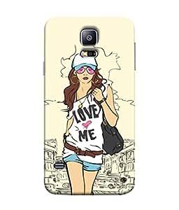 FUSON Designer Back Case Cover for Samsung Galaxy S5 :: Samsung Galaxy S5 G900I :: Samsung Galaxy S5 G900A G900F G900I G900M G900T G900W8 G900K (Family Friends Happiness Together Sister )