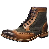Ted Baker Mens Sealls 3 Brogue Ankle Boot