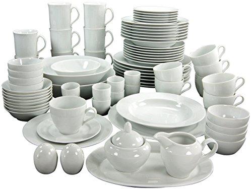 Creatable 17045 Service de Table, Porcelaine, Blanc, 56 x 40 x 33 cm