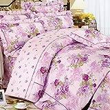 Weimilon Baumwolle Bettbezug Vier Jahreszeiten,Blumen,Gestreift,Einzigen,Student,Individuell,Double I Casual Chic 220 * 240Cm(87X94Inch) (Color : I, Size : 150x215Cm)