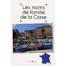 Les noms de famille de la Corse