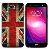 Easbuy Handy Hülle Soft Silikon Case Etui Tasche für LG X Power 2 Smartphone Cover Handytasche Handyhülle Schutzhülle