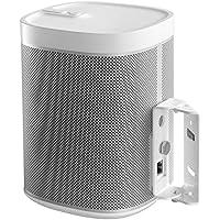 Supporto da parete Cavus regolabile per diffusore Sonos Play:1 bianco