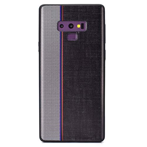 Carols Samsung Galaxy Note 9 Hülle, TPU Handyhülle Schutzhülle für Samsung Galaxy Note 9 Case Cover, Samsung Galaxy Note 9 Case Cover Black - Schwarz