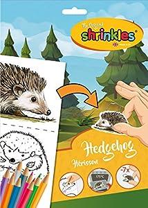 Shrinkles Shrinkles-WZ078 wz078Original Bosque Animales Erizo Slim Pack, Color Desconocido (Keycraft