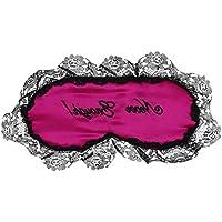 Preisvergleich für ITODA Augenmaske mit Spitzenbesatz Seide Schlafmaske für Damen Mädchen Lichtschutz Hautfreundliche Nachtmaske...