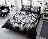 Questi bellissimi animali 3d stampa set copripiumino guardare splendida e dona un nuovo look elegante per la vostra camera.Si sentono incantevoli a dormire e in grado di fornire qualsiasi camera da letto con un tocco di glamour senza il costo aggiunt...