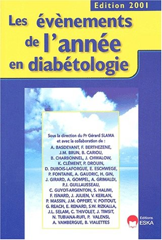 Evènements de l'annee en diabetologie