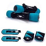 Crane Fitnessgewichte Set mit Handgelenks- Knöchel und Hantelgewichten ideal für Aerobic, Walken, Fitness Gewich