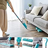 Vivo Technologies Flex Extendable Spray Mop with Double Sided Microfibre Pads for Hardwood