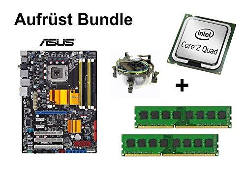 Preisvergleich Produktbild CSB Aufrüst Bundle - ASUS P5QL-E + Intel Q9650 + 4GB RAM