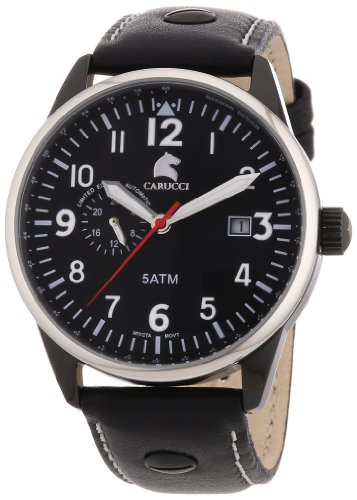 CRWT5|#Carucci Watches CA2180BK-WH