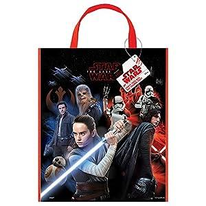 Bolsa grande de plástico para fiesta de Star Wars, 33 cm x 28 cm