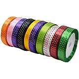 Asian Hobby Crafts Satin Ribbon (10 Pieces)