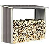Leñero de metal Victor - 2.15 m²