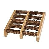 In legno Piede Antistress Terapia Massaggio Rullo Massaggiatore 25 x 25cm