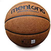 CN Peludo, Cuero, Baloncesto, séptimo Baloncesto, Adulto, Juego, Pelota,marrón,Numero 7