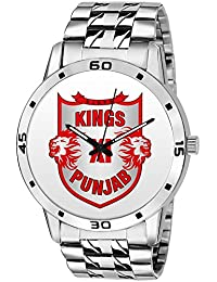 BigOwl Kings XI Punjab Watch For Men And Boys Cricket Fans