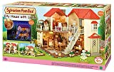 Epoch City House with Lights Sylvanian Families Casa de Mini muñecas...