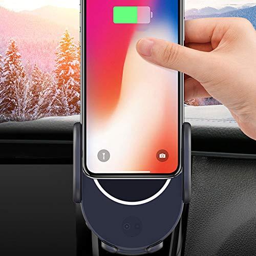 Intelligent Induction Car Wireless Charging 10W Autohalterung Wireless Charger,Geeignet für Die Meisten Handys