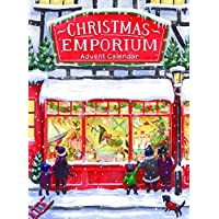Babalu Christmas Advent Calendar - Christmas Emporium - 24 Doors with Surprise Images for The Countdown to Christmas