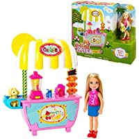 Mattel Playset Lemonade Stand and Chelsea | Barbie Doll CMY33 | Family Sister