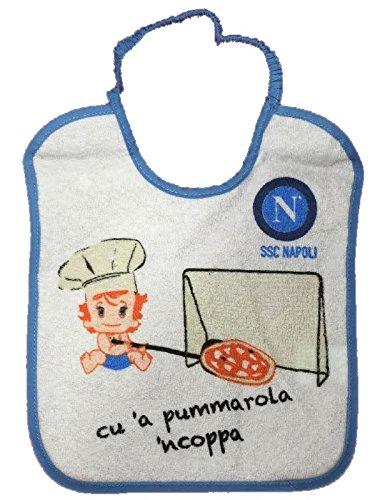 3Lätzchen Baby Pizza 20x 25cm Offizielle SSC NAPOLI * 00045
