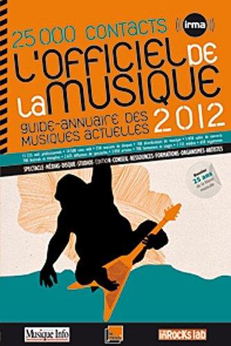 L'officiel de la musique 2012