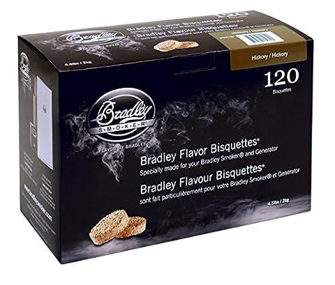 Bradley Smoker Boîte de 120 bisquettes Hickory